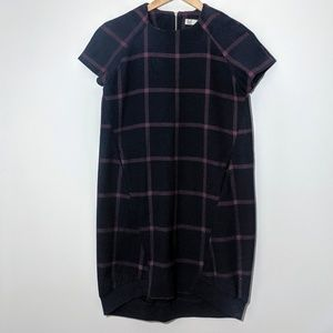 Zara TRF Collection | Plaid Oversized Plaid Dress